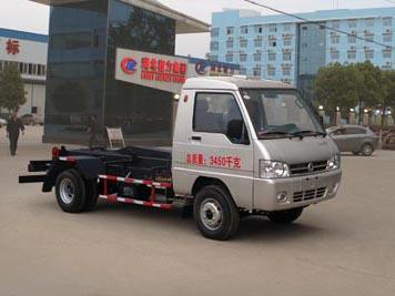 东风2.5方小型勾臂式垃圾车