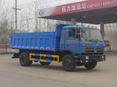 东风145侧翻盖密封自卸式垃圾车