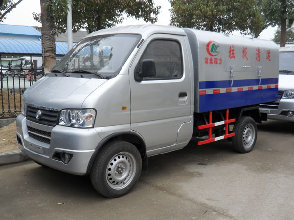 东风小卡3方微型垃圾车