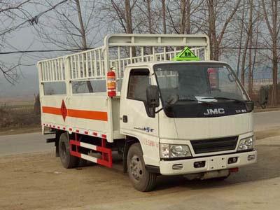 程力威牌CLW5061TQPJ5型气瓶运输车