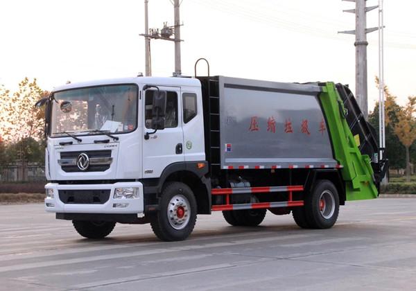 东风D9(10-12立方)压缩式垃圾车