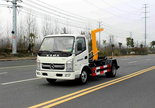 凯马5方勾臂式垃圾车